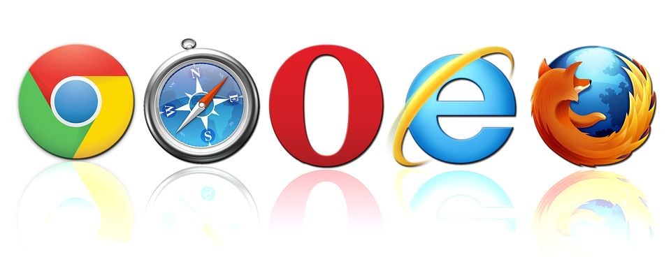 browsers horizontal